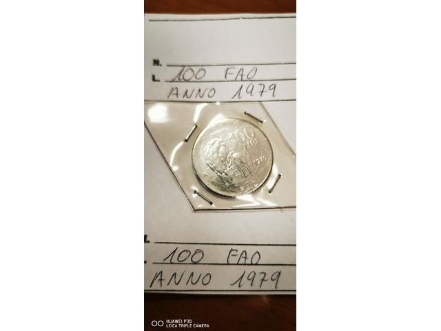 100 LIRE FAO ANNO 1979 - 1