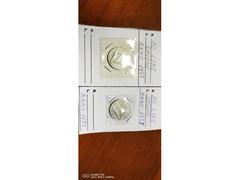 2 MONETE DA 10 LIRE SPIGHE ANNO 1955