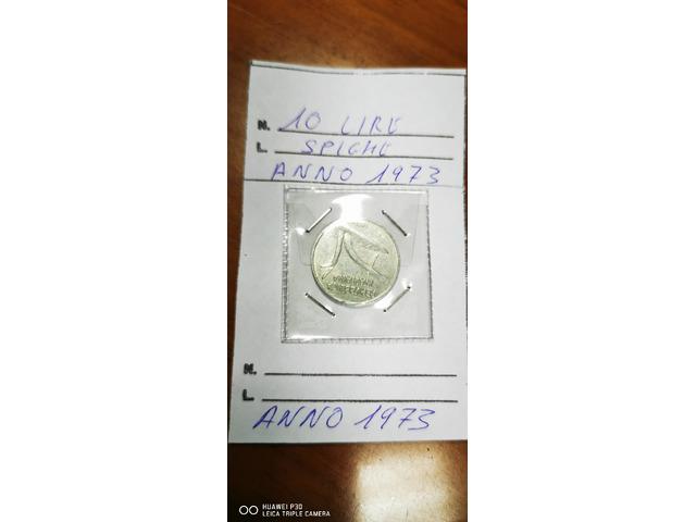 10 LIRE SPIGHE ANNO 1973
