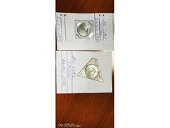 2 MONETE 10 LIRE SPIGHE ANNO 1976