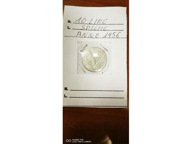 10 LIRE SPIGHE ANNO 1956