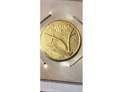 10 LIRE SPIGHE ANNO 1955